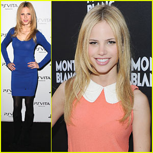 Halston Sage: Montblanc Jewellery Brunch Beauty