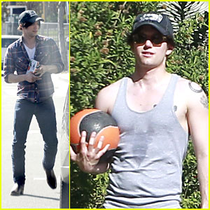 Jackson Rathbone Works It Out