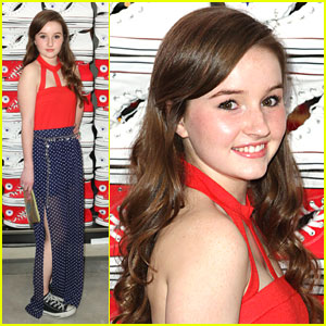 Kaitlyn Dever Kicks It with Converse