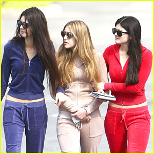 Kendall &#038; Kylie Jenner: Red, White &#038; Blue for President's Day!