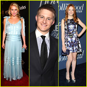 Jacqueline Emerson &#038; Leven Rambin: THR Nominee's Night 2012