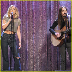 Miley Cyrus: 'Lonesome' Cover on Jimmy Kimmel Live