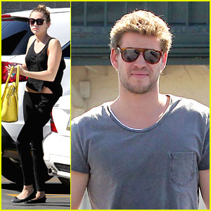 Miley Cyrus & Liam Hemsworth: Paty's Pair