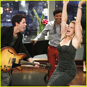 Nick Jonas Sings 'Haven't Met You Yet' on Smash -- EXCLUSIVE!