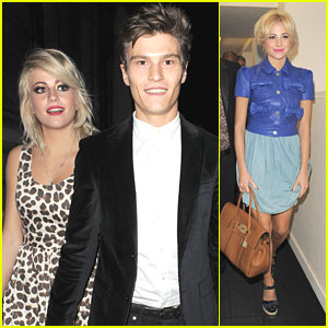 Pixie Lott & Oliver Cheshire: Temperley London & Mulberry Shows
