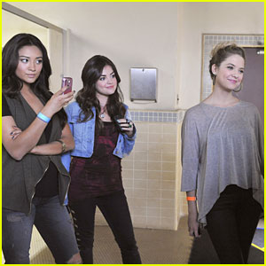 Lucy Hale & Shay Mitchell Find 'The Naked Truth'