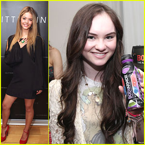 Sasha Pieterse & Madeline Carroll: Style Lounge Ladies