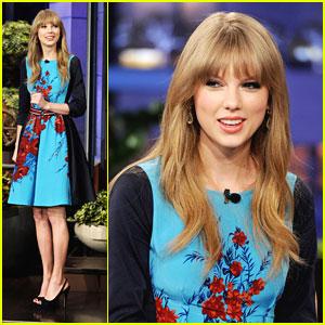 Taylor Swift: Jay Leno Lady