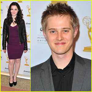 Vanessa Marano & Lucas Grabeel: 'Switched' Screening at The Academy