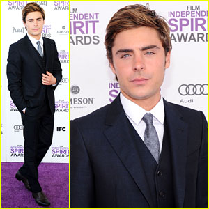 Zac Efron - Film Independent Spirit Awards 2012