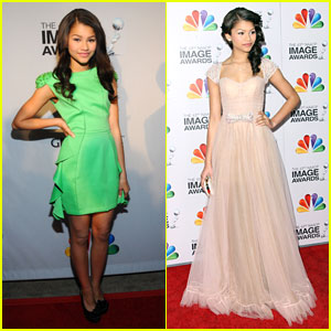 Zendaya: NAACP Image Awards 2012