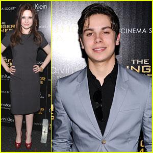 Abigail Breslin & Jake T. Austin: 'The Hunger Games' Screening