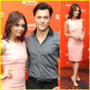 Alexandra Chando: ABC Family Upfronts with Blair Redford!