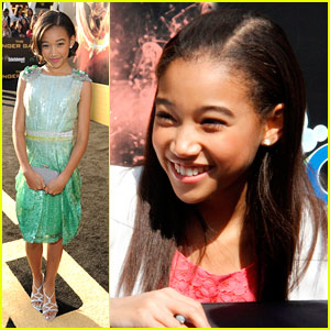 Amandla Stenberg: 'The Hunger Games' Girl