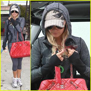 Ashley Tisdale: AllSaints Shopper