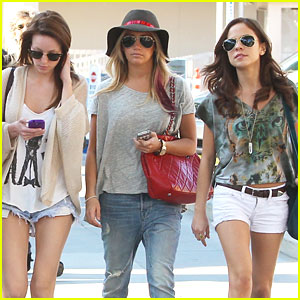 Ashley Tisdale: Shopping in Santa Monica