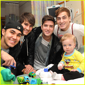 Children's Hospital Boston Gets A Big Time Rush