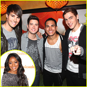 Keke Palmer & Big Time Rush: Nick Upfronts in Hollywood!