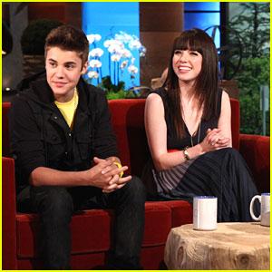 Carly Rae Jepsen & Justin Bieber: 'ELLEN' Sneak Peek!