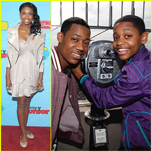 Coco Jones: Disney Upfronts with Tyler & Tyrel!