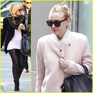Dakota Fanning Bundles Up in the Big Apple