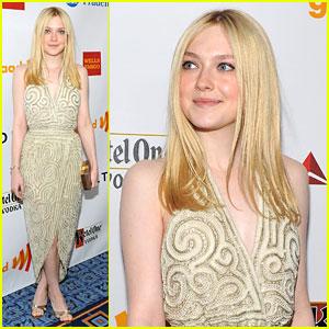 Dakota Fanning: GLAAD Awards 2012