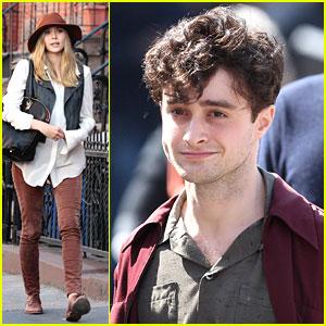 Elizabeth Olsen: 'Kill Your Darlings' Set with Daniel Radcliffe