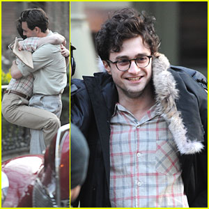 Daniel Radcliffe: Hugs For Jack Huston