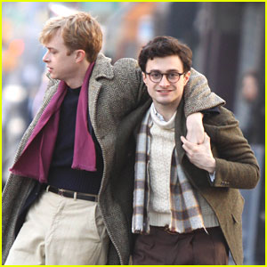 Daniel Radcliffe: 'Kill Your Darlings' Set!
