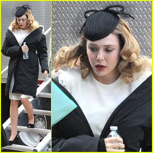 Elizabeth Olsen: Edie Parker on 'Kill Your Darlings' Set
