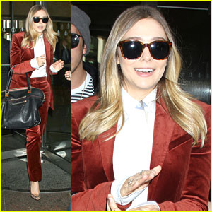 Elizabeth Olsen: Terrified of Spiders!
