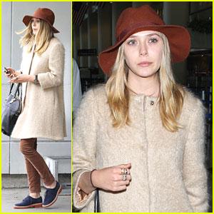 Elizabeth Olsen 'Thankful' for It Girl Status