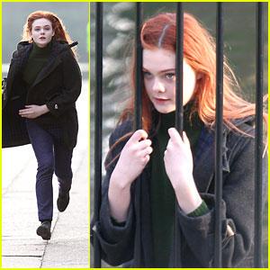 Elle Fanning is a Red Head!
