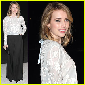 Emma Roberts: London Show Rooms L.A. Party!