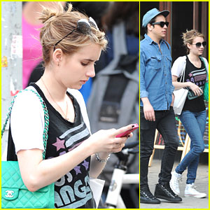Emma Roberts Promotes 'Pretty Amazing'