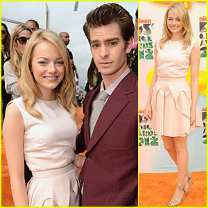 Emma Stone: Kids' Choice Awards 2012 with Andrew Garfield!