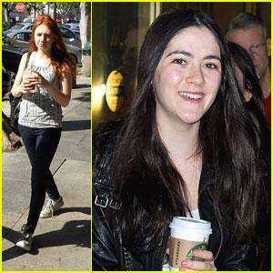 Isabelle Fuhman & Jacqueline Emerson: Starbucks Stops