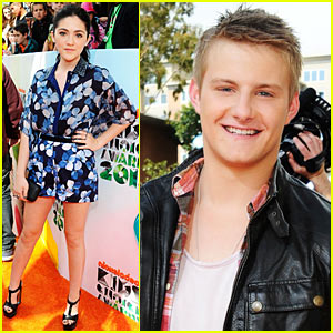 Isabelle Fuhrman & Alexander Ludwig - Kids' Choice Awards 2012!
