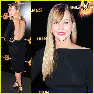 Jennifer Lawrence: 'The Hunger Games' in Paris!
