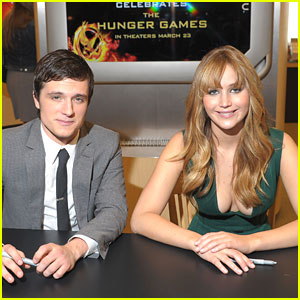Josh Hutcherson: 'The Hunger Games' Signing with Jennifer Lawrence
