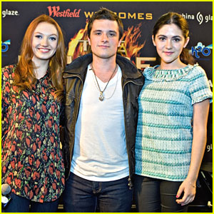 Josh, Jackie & Isabelle: 'The Hunger Games' in Chicago!