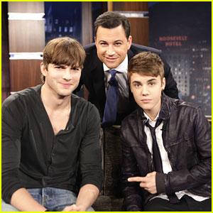 Justin Bieber Promotes 'Punk'd' on 'Jimmy Kimmel Live'