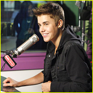 Justin Bieber: Radio Disney Visit!