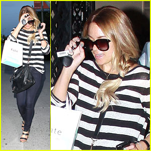 Lauren Conrad: Back From Tanzania!