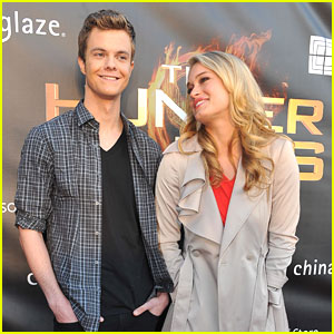 Leven Rambin & Jack Quaid: 'The Hunger Games' Go To Georgia