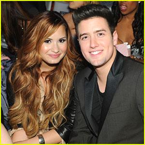 Demi Lovato & Logan Henderson: 'Big Time Movie' Mates