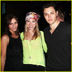 Alexandra Chando & Allie Gonino: Just Jared's 30th Birthday Party Pair