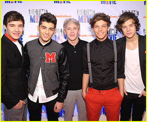 One Direction: 'Big Time Movie' Premiere!