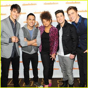 Big Time Rush & Rachel Crow: Nickelodeon Upfronts 2012!