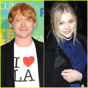 Chloe Moretz & Rupert Grint Sign Up for 'The Drummer'